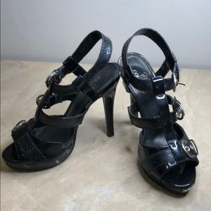 Club Couture sandals high heel with strap all over